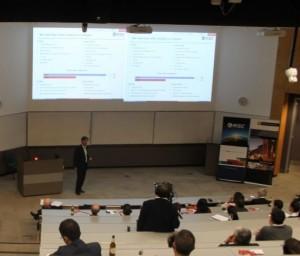 Martin Wilkes presenting at Curtin University